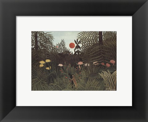 Framed Virgin Forest Print