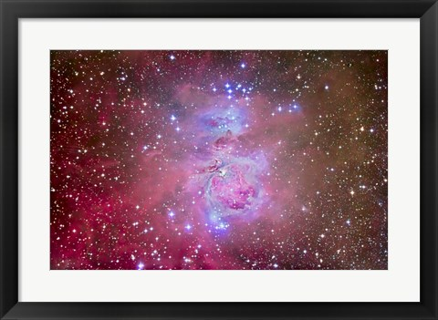 Framed Orion Nebula Region Print