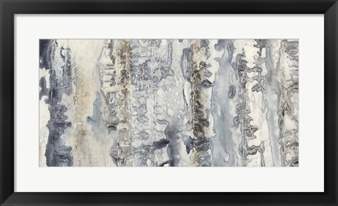 Framed Neutral Strata I Print