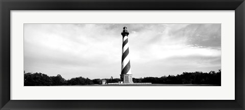 Framed Cape Hatteras Lighthouse, Outer Banks, Buxton, North Carolina Print