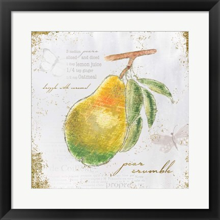 Framed Garden Treasures III Print