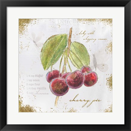 Framed Garden Treasures IV Print