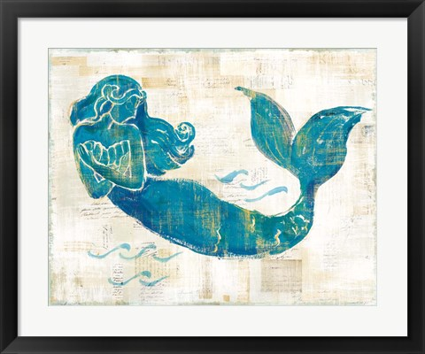 Framed On the Waves II Print