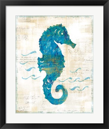Framed On the Waves III Print