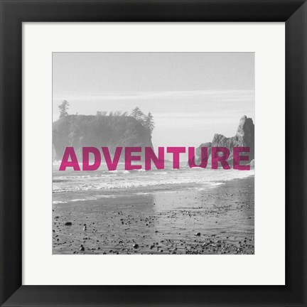 Framed Bold Adventures V Print