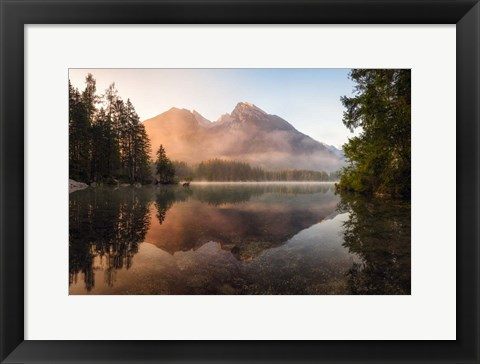 Framed Glowing Mist Print