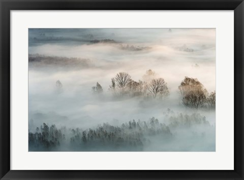 Framed Winter Fog Print