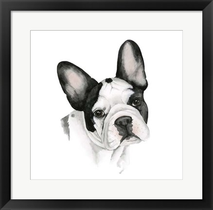 Framed Human's Best Friend IV Print