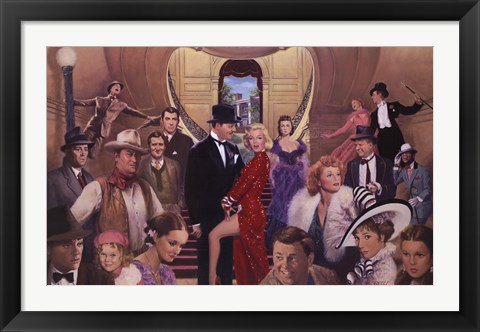 Framed Gone with the Stars Print