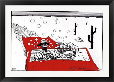 Framed Fear & Loathing Print