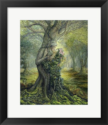 Framed Dryad And The Tree Spirit Print