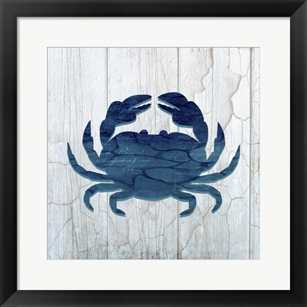 Framed Gypsy Sea Sea 3 Print