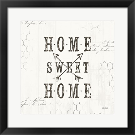 Framed Farmhouse Fresh IV Print