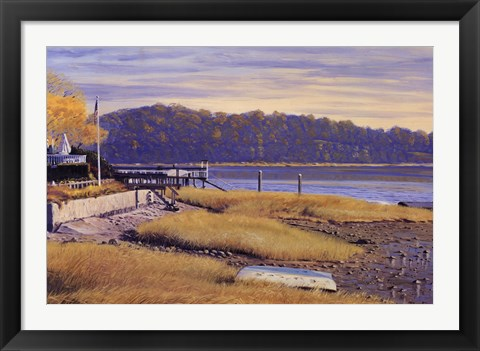 Framed Autumn Marsh Print