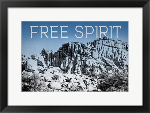 Framed Ombre Adventure VI Free Spirit Print