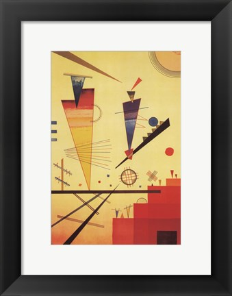 Framed Merry Structure Print