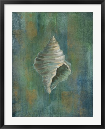 Framed Tropical Sea III Print