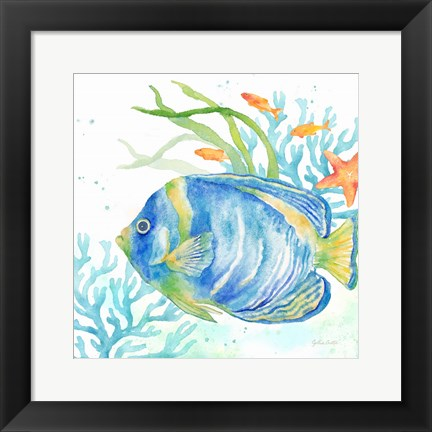 Framed Sea Life Serenade I Print