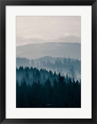Framed Blue Mountains II Print