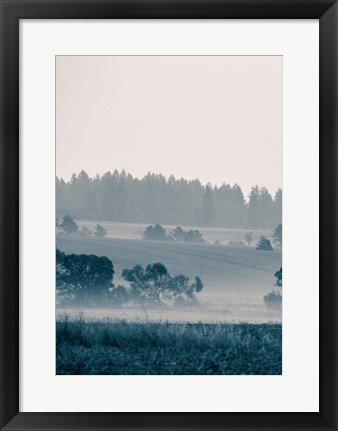 Framed Blue Mountains III Print