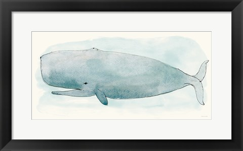 Framed Sea Life V Print