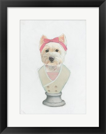 Framed Canine Couture II Print