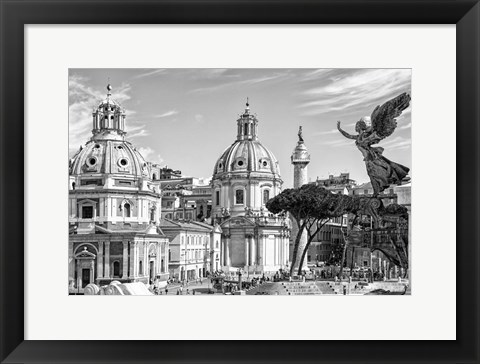 Framed City of the Italian Angels Print