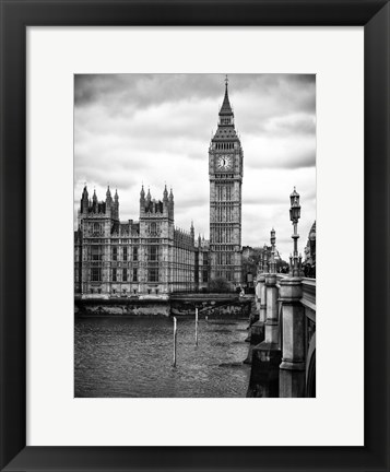 Framed Palace of Westminster and Big Ben - London Print