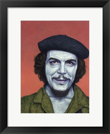 Framed Dead Red - Che Print