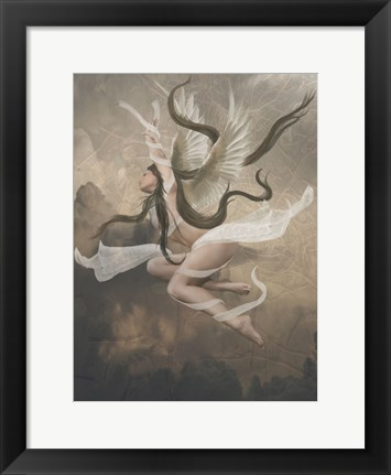 Framed Winged Fairie IV Print