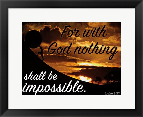 Framed Possibilities Print