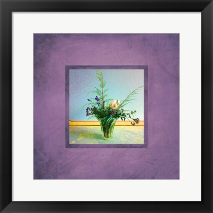 Framed Tuscan Bouquet Print