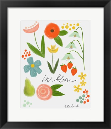 Framed In Bloom Print