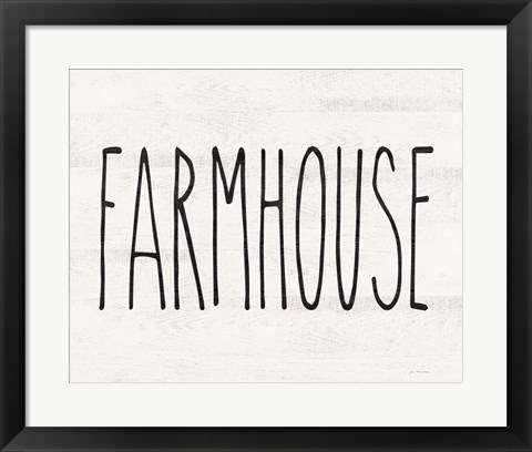Framed Farmhouse Print