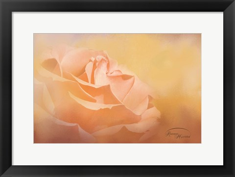 Framed Flowers in Heaven Print