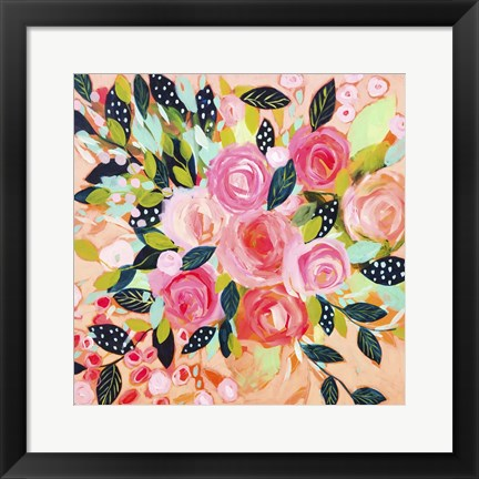 Framed Pink Blush Print