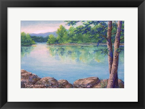 Framed Tablerock Cove Print