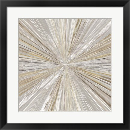 Framed Shimmering Light II Print