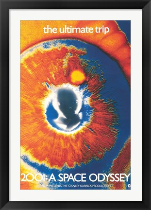 Framed 2001: A Space Odyssey (the ultimate trip) Print