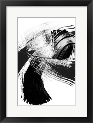 Framed Your Move on White IV Print