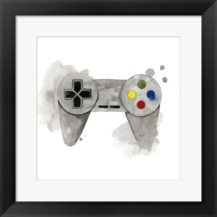 Framed Gamer III Print