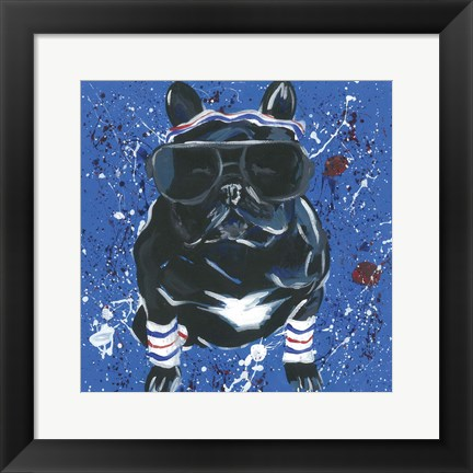 Framed Dapper Animal III Print