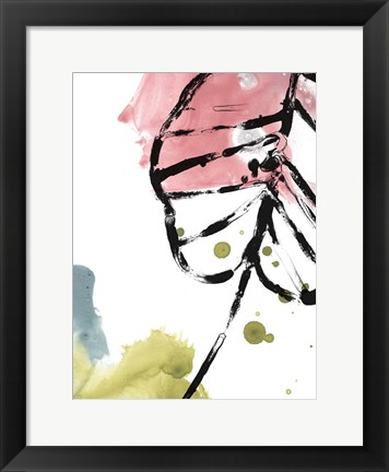 Framed Tropical Moderne III Print