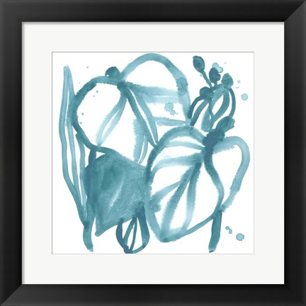 Framed Boho Tropicals V Print
