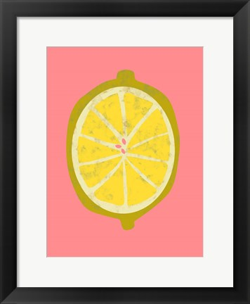 Framed Fruit Party II Print