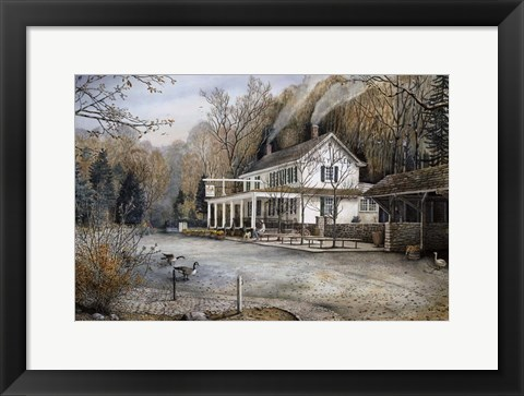 Framed Valley Green Inn II Print