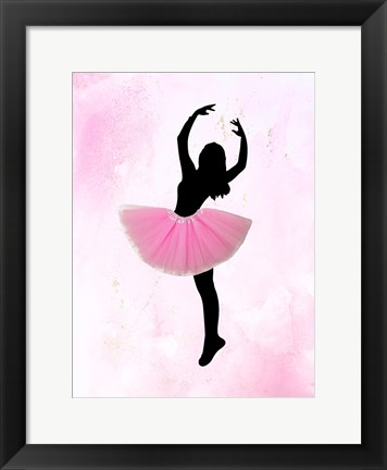 Framed Dancer 1 Print