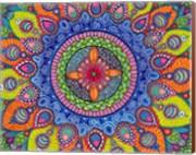 Mardi Gras Mandala