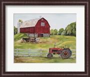 Rural Red Barn B