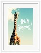 Hello Gorgeous Giraffe